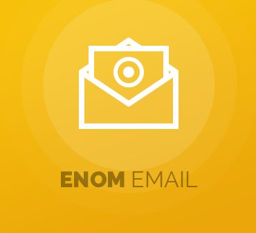 Enom Email For WHMCS